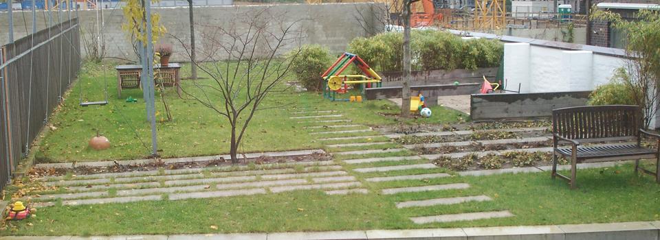 Der Garten vor der Umgestaltung