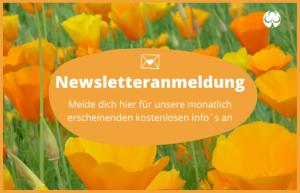 Newsletter Anmeldung Grünreich