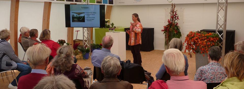 Vortrag auf der BUGA 2015 im i-Punkt Grün, Rathenow