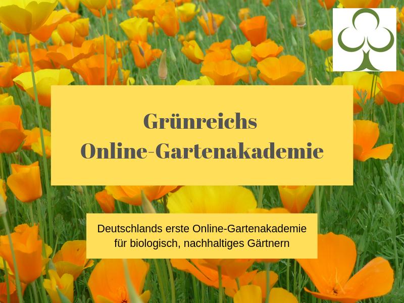 Deutschlands erste Online-gartenakademie für biologisch, nachhaltiges Gärtnern