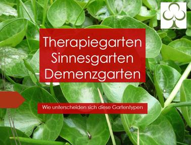 Webinar Therapiegarten