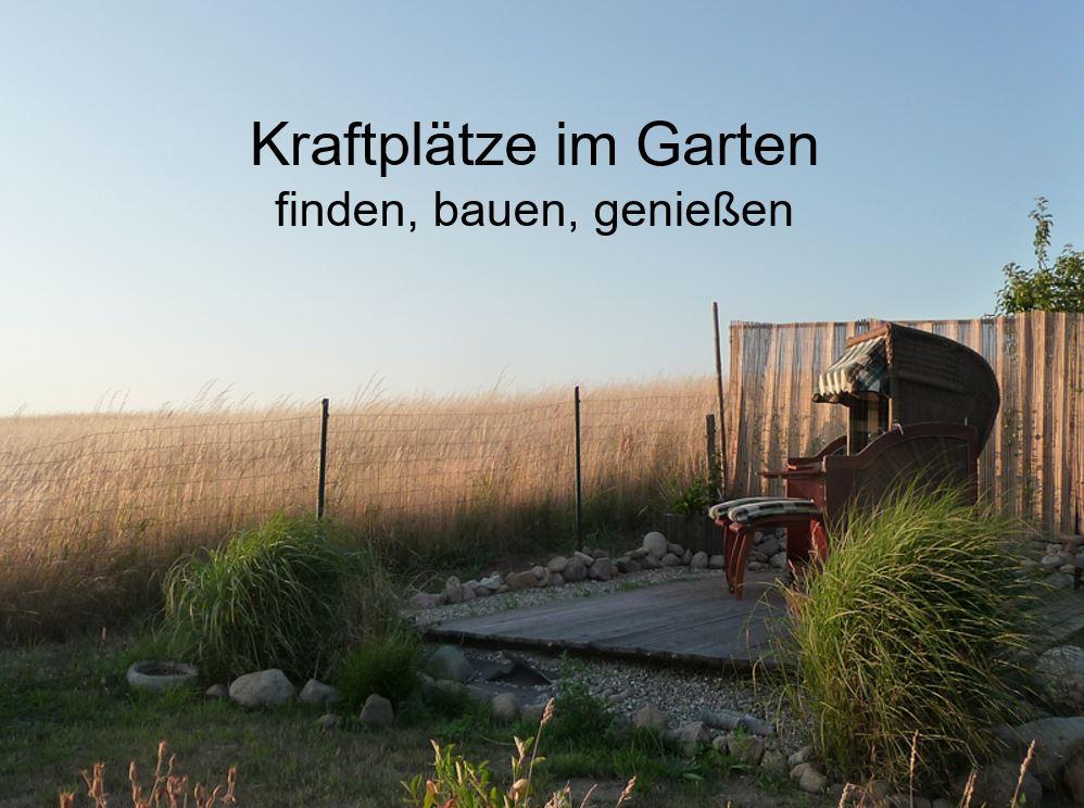 kraftplätze im Garten