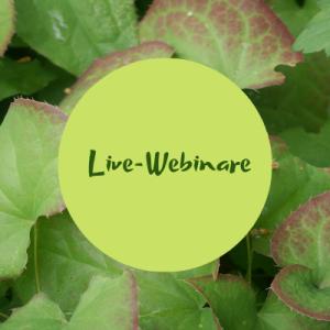 Gartenakademie Live-Webinare