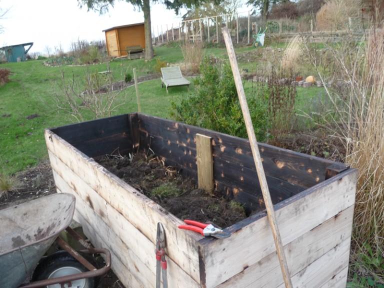 Hochbeet Eigenbau