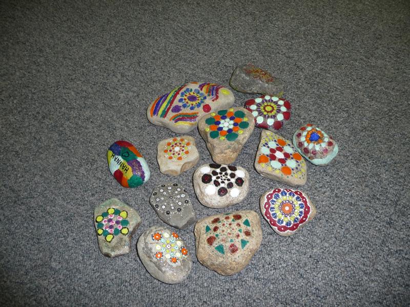 Fortbildung Betreuungskraft _bemalte Steine