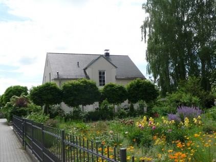 Vorgarten gestalten mit Zaun