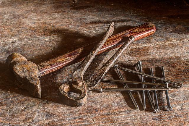 Werkzeug Hochbeet bauen